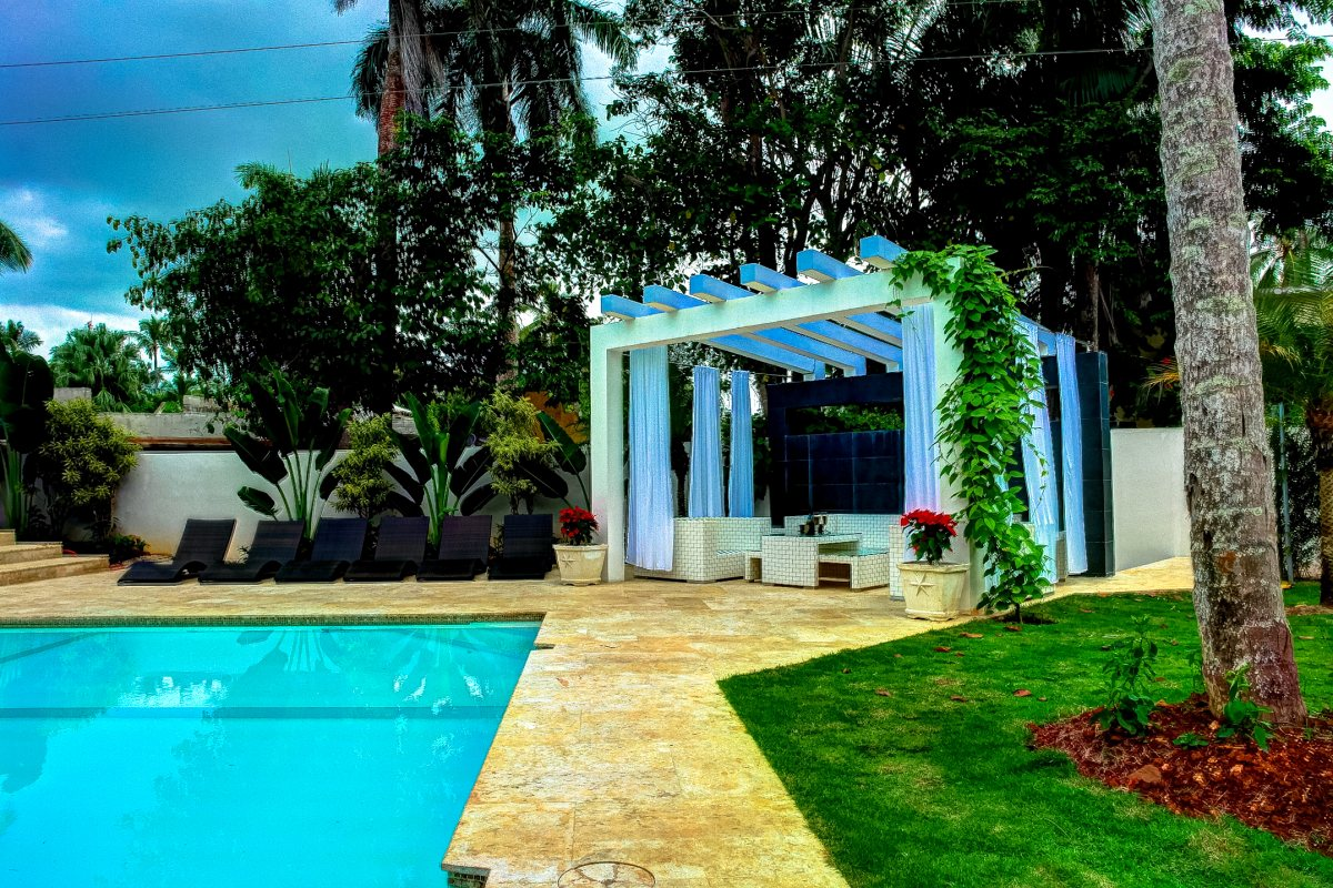 Villa Sofia – Outdoor. Garden & Pools – Cabana