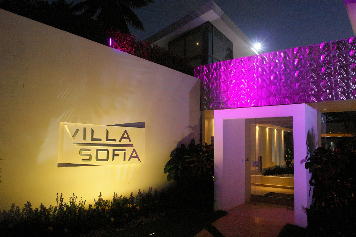 Villa Sofia Entrance