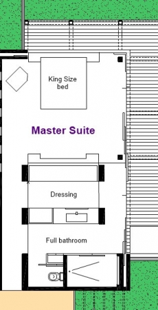 Master Suite - 1st Floor