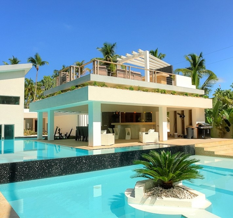 Villa Sofia – Outdoor. Garden & Pools – Pools/Terrace