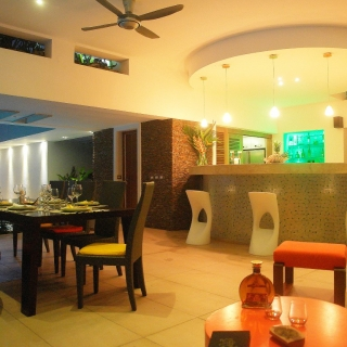 Villa Sofia – Living Areas – Outside Dining/Bar