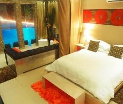 Villa Sofia – The Pool Suite – Living Spae