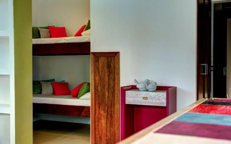 Villa Sofia – Floorplans – Family Suite – Bunk Beds
