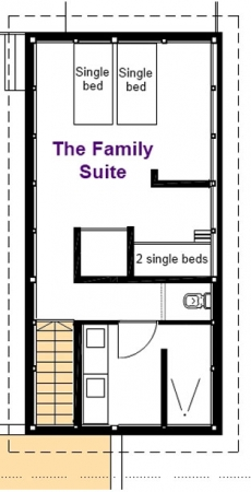 Family Suite - 2nd Floor
