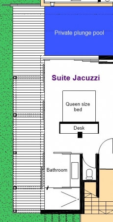 Jacuzzi Suite - 1st Floor