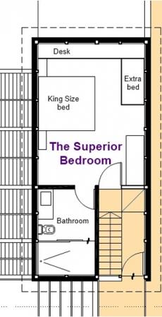 Villa Sofia – Floorplans – Superior Suite – Floorplan